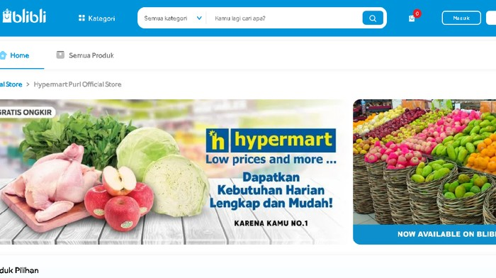 Blibli x Hypermart