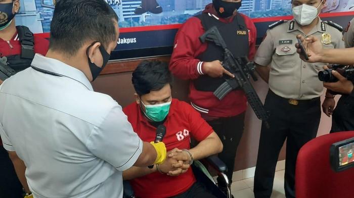 Buron begal pesepeda Kolonel Marinir Pangestu Widiatmoko ditangkap polisi