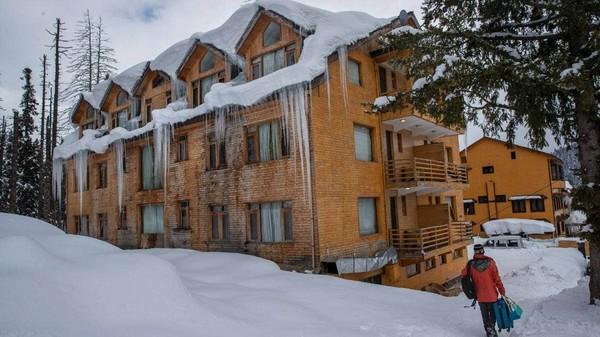 Semua hotel di Gulamarg penuh sampai akhir Februari 2021.