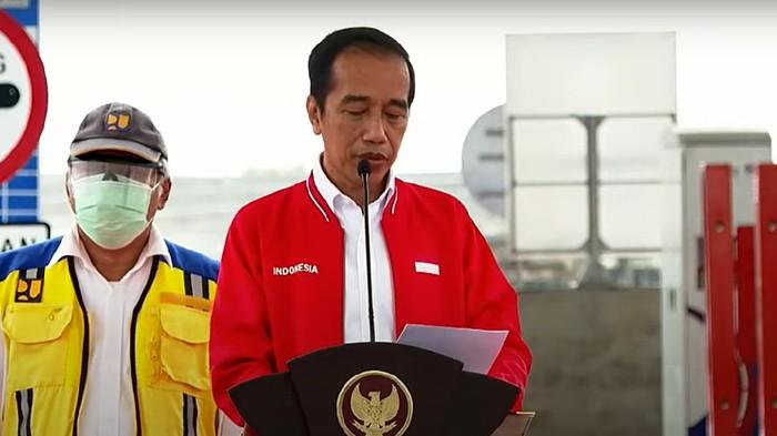 Jokowi Resmikan Tol Kayu Agung-Palembang