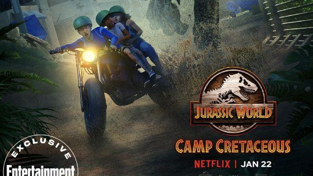 Jurassic World: Camp Cretaceous Season 2. (Dok: NETFLIX)