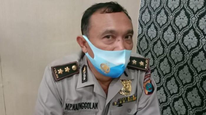 Kasubbid Penmas Polda Sumut, AKBP MP Nainggolan (Ahmad Arfah-detikcom)