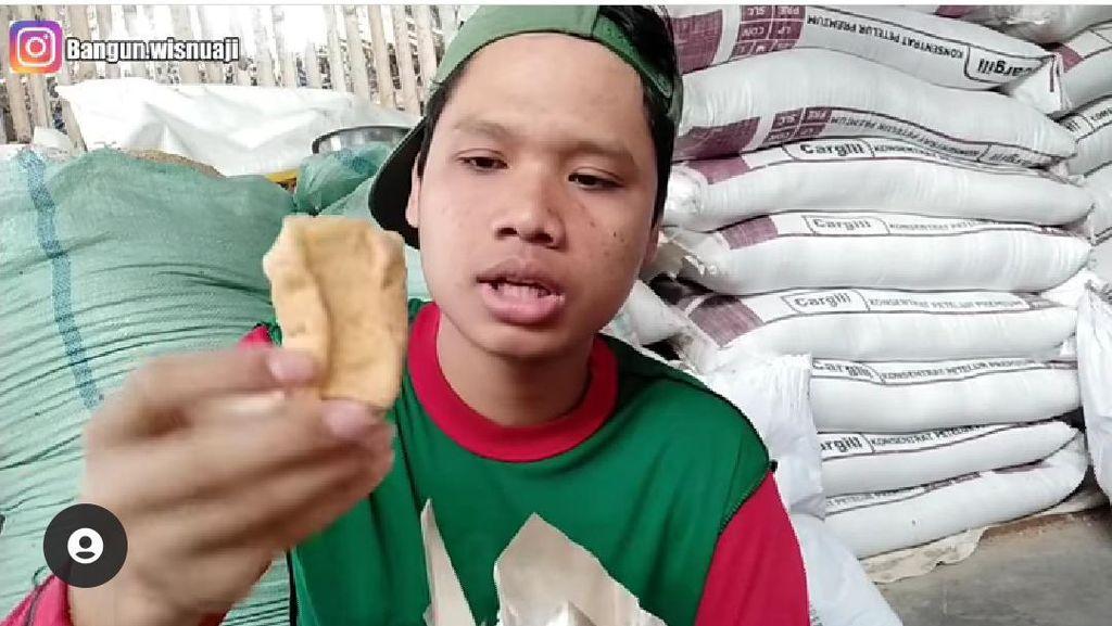 Bikin Ngakak, Pria Ini Unboxing Nasi Bungkus Pakai Bahasa Jawa Medok