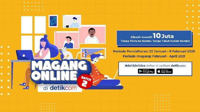 Magang Online detikcom Batch 2