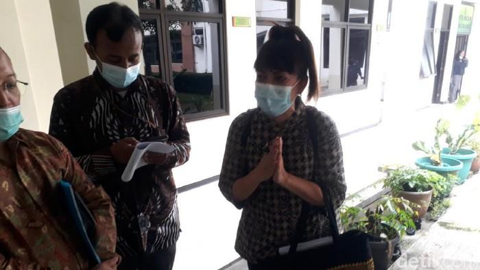 Mediasi kasus anak gugat orang tua gegara mobil di PN Salatiga, Selasa (26/1/2021).