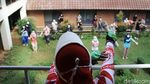 Melihat Pasien OTG Corona Olahraga di Wisma Makara UI