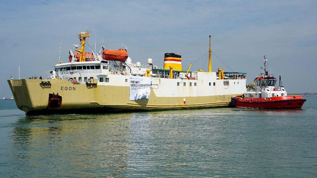 Pelni Bantu Salurkan Logistik untuk Korban Bencana