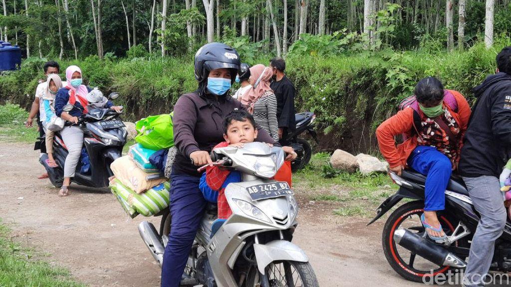 Pengungsi Gunung Merapi di Sleman Akhirnya Dipulangkan Hari Ini