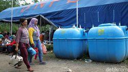 187 Pengungsi Merapi Tinggalkan Barak Pengungsian Glagaharjo