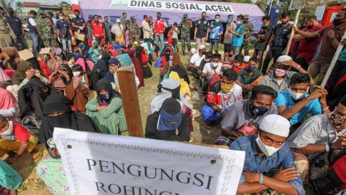 Pengungsi Rohingya. (Antara Aceh/Rahmad)
