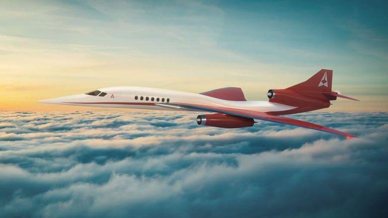 Pesawat supersonik Aerion AS2