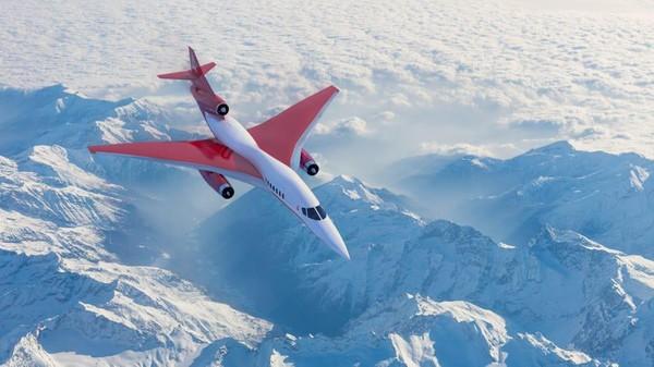 Pembuat pesawat Amerika Serikat, Aerion, yang kini terlihat menjanjikan terciptanya pesawat supersonik.Pabrikan itu memiliki prototipe pesawat supersonik AS2.