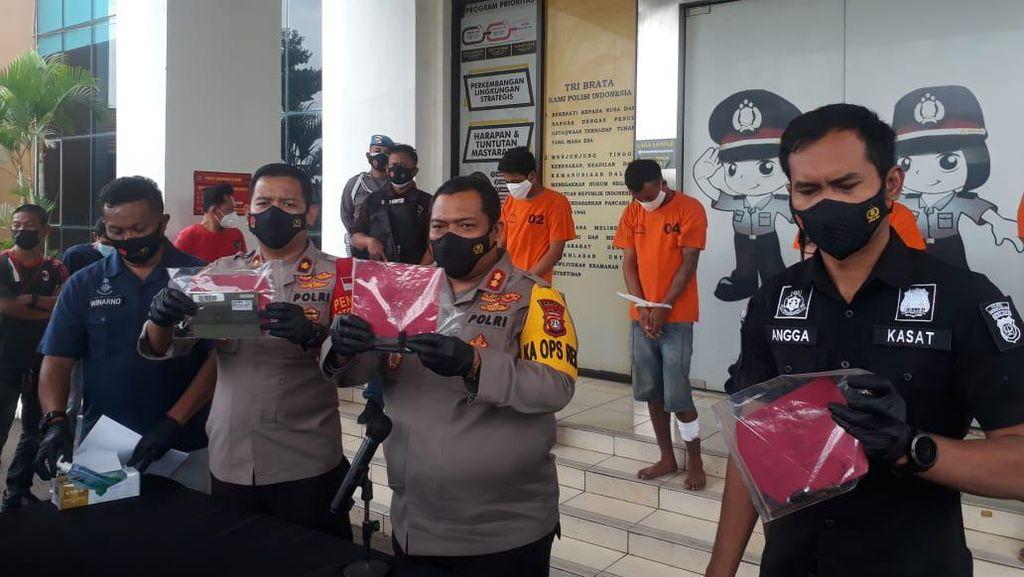 Dor! Melawan Polisi, Residivis Pelaku Curanmor di Tangsel Ditembak