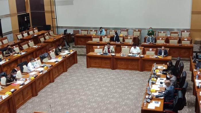 Rapat RDP Komisi III dan Jaksa Agung