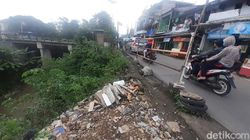 Warga Jl Raya Cilebut Kota Bogor Minta Jurang Rawan Longsor Diperkuat