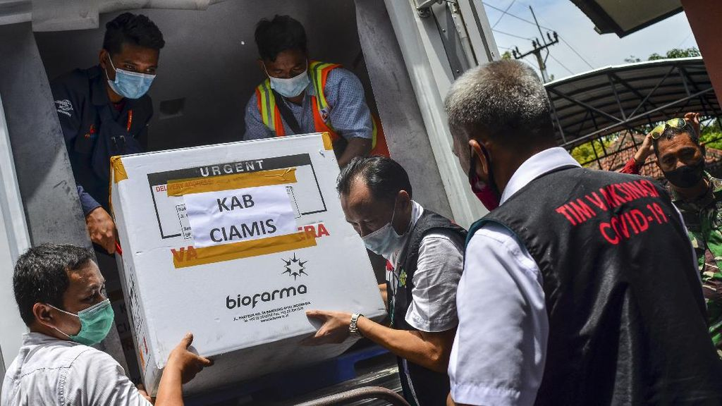 Biofarma Distribusikan Vaksin Sinovac ke 34 Provinsi Indonesia