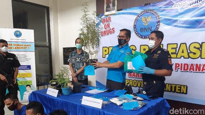 BNN Banten Ungkap Sindikat Penjual Ganja