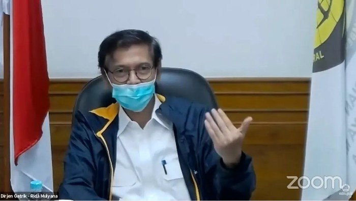 Direktur Jenderal Ketenagalistrikan Rida Mulyana