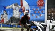 Edukasi Lewat Mural Gencar, Kasus Corona Tembus Satu Juta