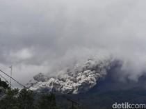 Detik-detik Gunung Merapi Luncurkan Awan Panas