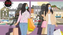 Mal Mulai Ramai Jelang Lebaran tapi Masyarakat Masih Tahan Belanja Nih