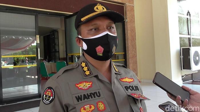 Kabid Humas Polda Gorontalo Kombes Wahyu Tri Cahyono (Ajis Khalid/detikcom)