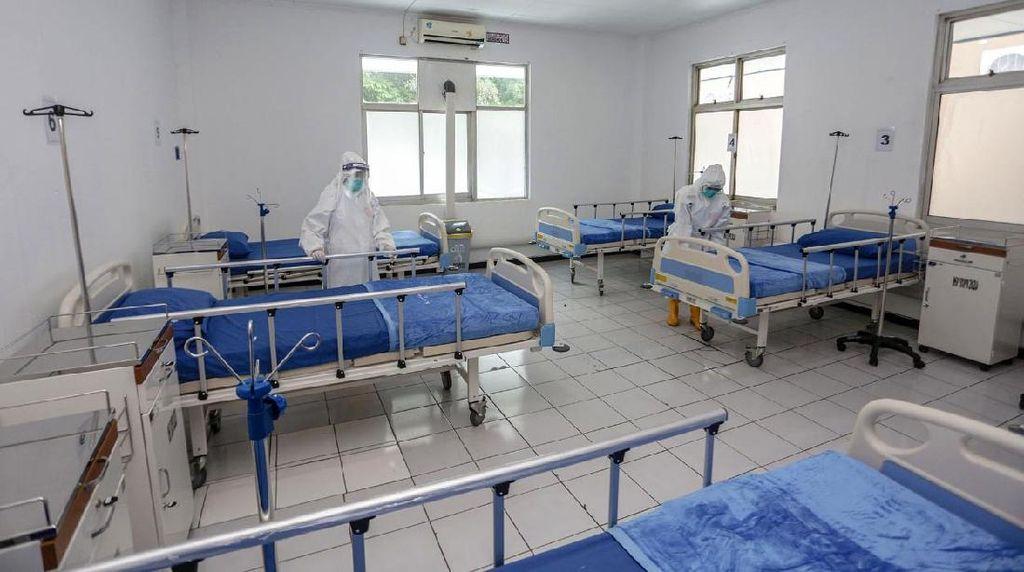 Kasus Corona Terus Naik, Pemkot Bogor Dirikan Rumah Sakit Lapangan