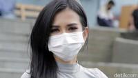 Maria Vania mengaku berterima kasih atas pujian dari para netizen terkait badannya yang seksi. Foto: Noel/detikhot
