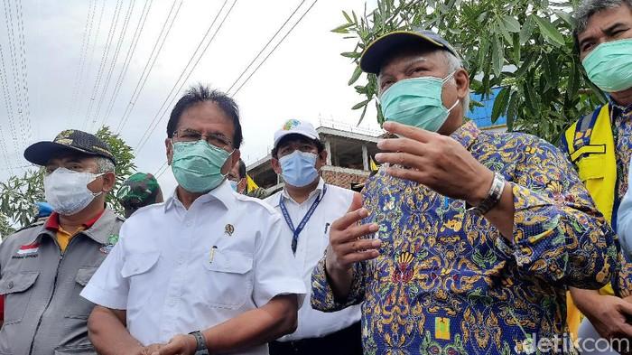 Menteri ATR/BPN dan Menteri PUPR sambangi perumahan Grand Kota Bintang Bekasi