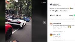 Duh! Mobil Doang Ganteng, Parkir di Jalur Sepeda