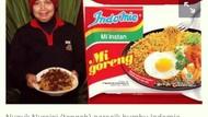 Fakta Peracik Bumbu Indomie dan Penjual Mie Ayam Cantik di Sentul
