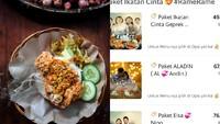 Restoran Ayam GeprekIniTawarkan Menu Serba Ikatan Cinta