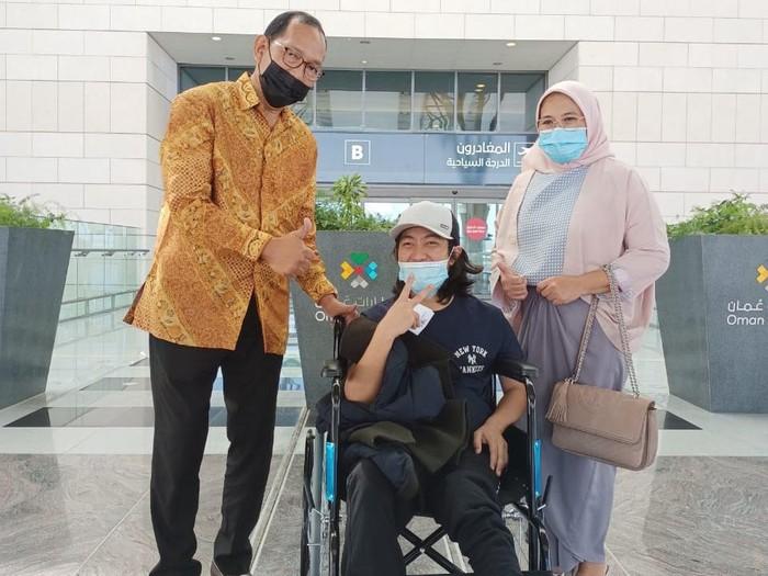 PMI Asal Lampung Dipulangkan Gegara Lumpuh Akibat Terjatuh