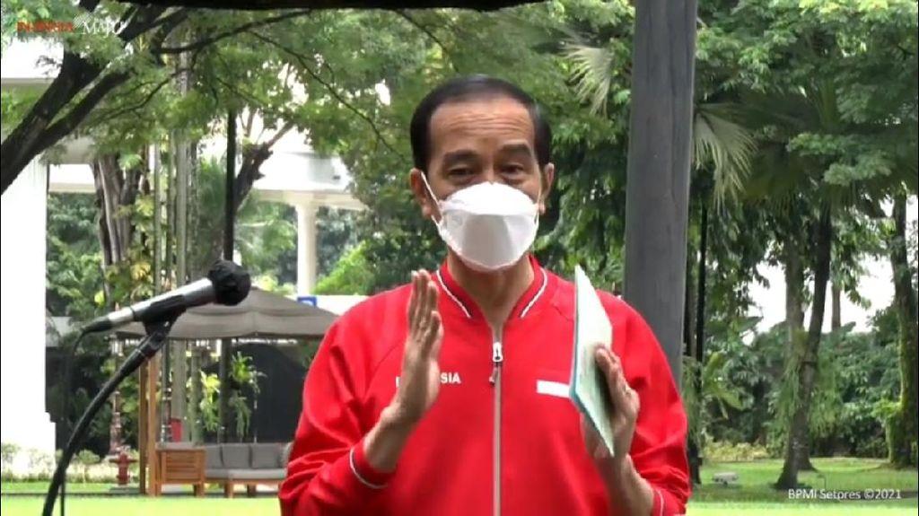 Presiden Jokowi: TNI-Polri-Masyarakat Divaksinasi Corona Pertengahan Februari