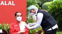 Di Balik Kaus Kutang Jokowi untuk Vaksinasi ke-2 Corona