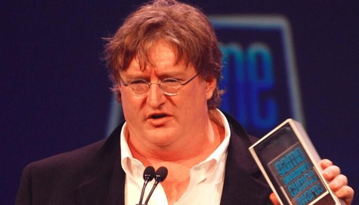 President of Valve Gabe Newell
