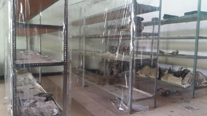 Sejumlah koleksi barang antik milik Museum Taman Budaya Sultra hilang akibat dibobol maling (dok. Istimewa).