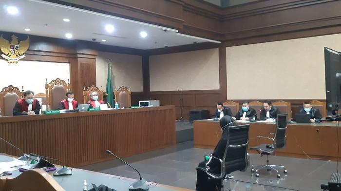 Sidang Pinangki kasus suap fatwa MA
