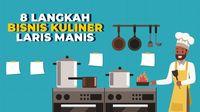 8 Langkah Bisnis Kuliner Laris Manis