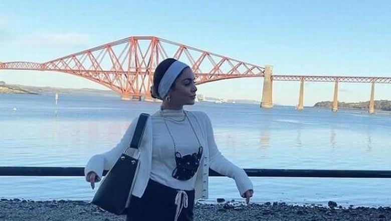 Vanessa Hudgens di Skotlandia