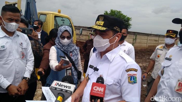 Wagub DKI, Ahmad Riza Patria Tinjau TPU Rorotan