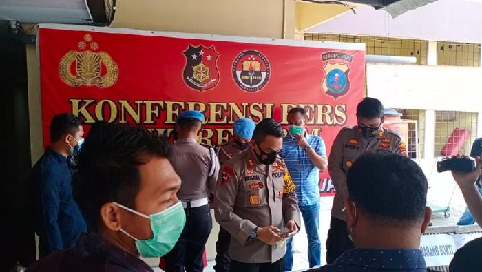 Wakapolrestabes Medan, AKBP Irsan (tengah)/(dok. Istimewa)