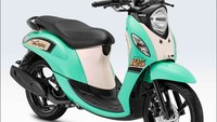 Yamaha Fino 125 Sporty Kini Punya Baju Baru