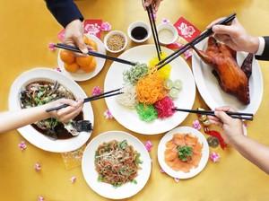 Santap Nikmat Sajian Yee Shang yang Kaya Harapan di Tahun Baru Imlek