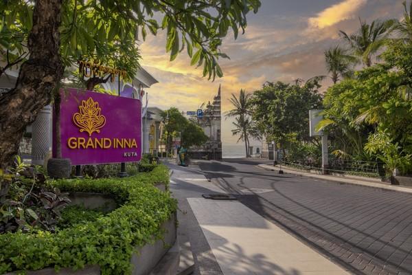 Grand Inna Kuta merupakan hotel BUMN berbintang 4. (Grand Inna Kuta)