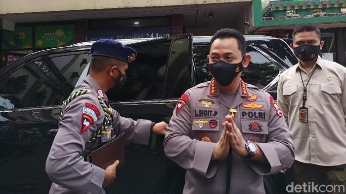 Kapolri Jenderal Listyo Sigit Prabowo.