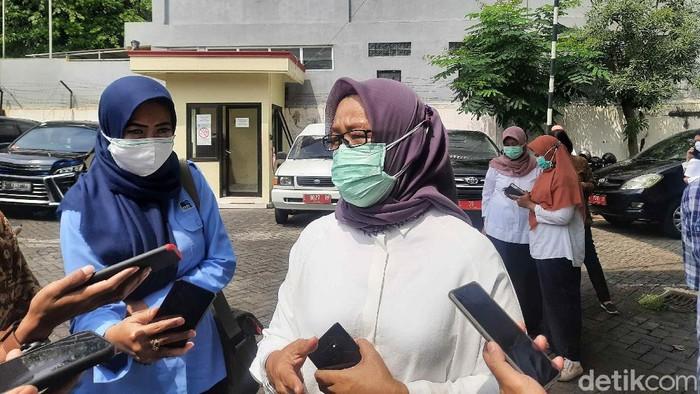 Kepala Dinkes Kota Surabaya Febria Rachmanita