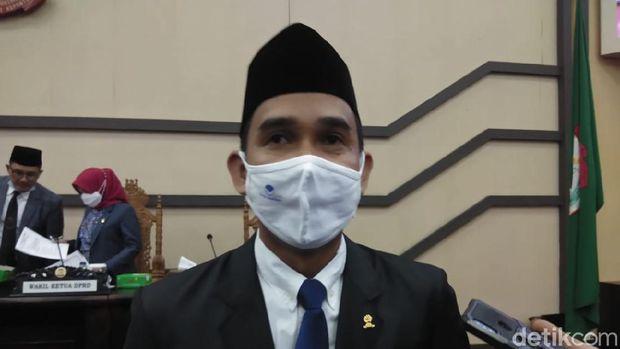 Ketua DPRD Makassar Rudianto Lallo (Hermawan/detikcom).
