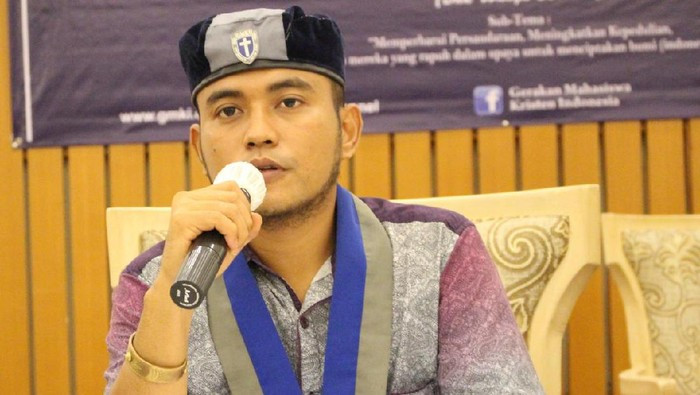 Ketua Umum GMKI, Jefri Gultom (Dok GMKI)