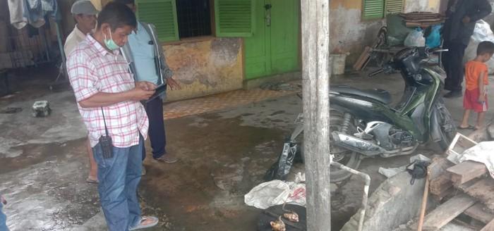 Lokasi viral karung isi kucing dikuliti di Medan (Ahmad-Arfah-detikcom)